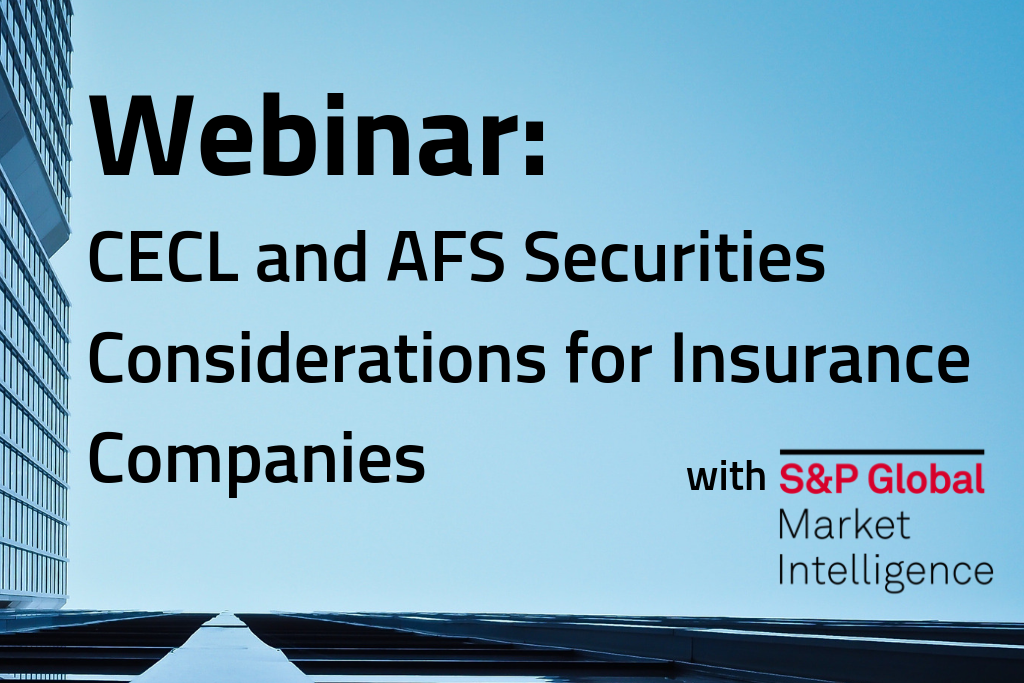 CECL and AFS Securities Considerations for Insurance Companies